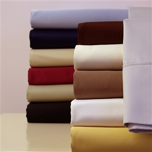 300 TC Combed Cotton Solid Attached Waterbed Sheet Sets