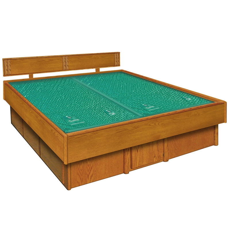 Oak 5-Board Frame Waterbed