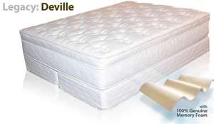 LEGACY: DEVILLE SOFT SIDE WATERBED MATTRESS