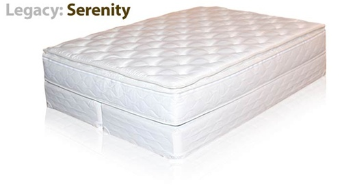LEGACY SERENITY SOFT SIDE WATERBED MATTRESS