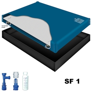 Sanctuary SF1 50% Waveless Waterbed Mattress