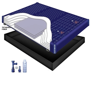 Luxury Support 6300 Waveless Waterbed Mattress