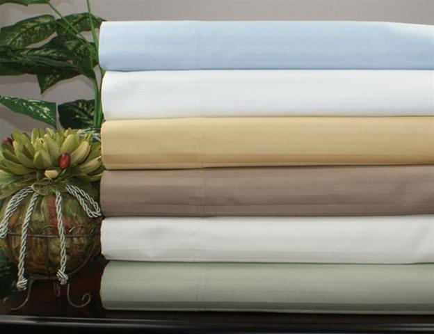 1200 Tc Egyptian Cotton Striped Colors