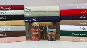 300 TC Egyptian Cotton Solid Colors