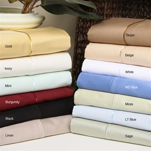 650 TC Egyptian Cotton Solid Colors