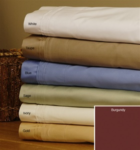 800 TC Egyptian Cotton Solid Colors
