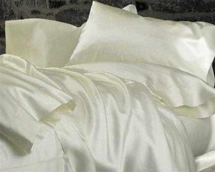 Bridal Satin Waterbed Sheets
