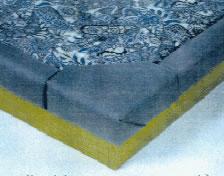 5pc Jumbo Waterbed Padded Rails Vinyl