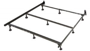 9 Leg Metal Waterbed Frame For Softside Waterbeds