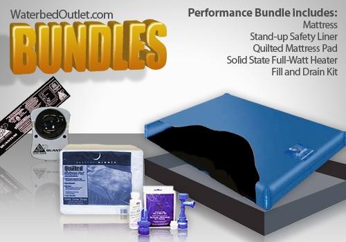 - Free Flow Waterbed Mattress Bundle