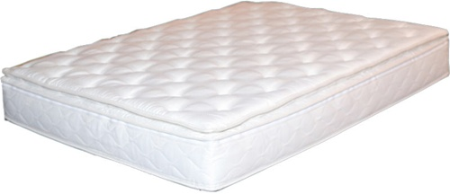 legacy ivory pillow top waterbed mattress cover