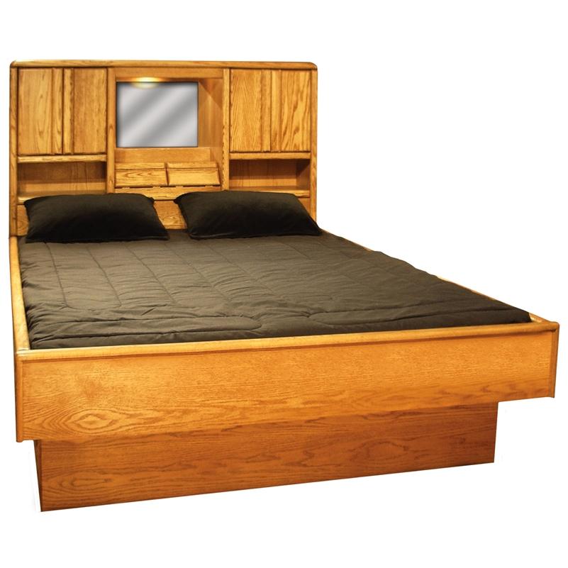 Magnolia Headboard - Wood Frame Waterbed