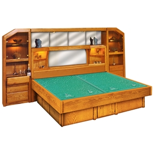 Marathon Tall Wall Unit - Wood Frame Waterbed