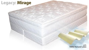 LEGACY: MIRAGE SOFT SIDE WATERBED MATTRESS