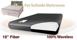 Legacy US-Made Ruby 5K 100% Waveless Softside Waterbed Replacement Bladder