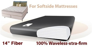 Legacy US-Made Ruby 7K 100% Waveless Extra Firm Softside Waterbed Replacement Bladder
