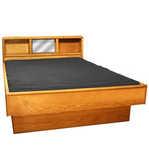 Tulip Headboard - Wood Frame Waterbed