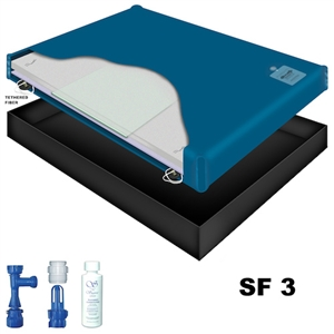 Sanctuary SF3 Semi Waveless Waterbed Mattress