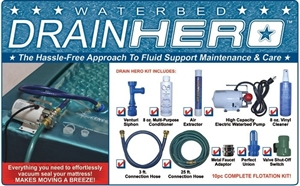Drain Hero Total Waterbed Maintenance Kit