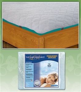 Anchor Band Waterbed Mattress Pad