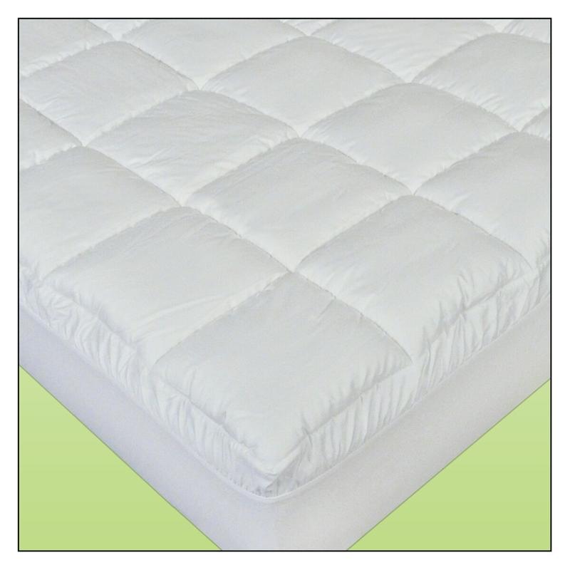 Cotton Plush Waterbed Mattress Pad