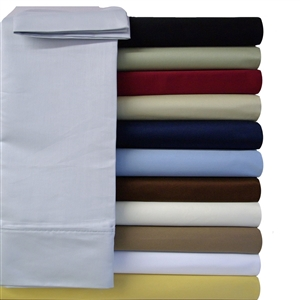 Microfiber Solid Colors Waterbed Sheets